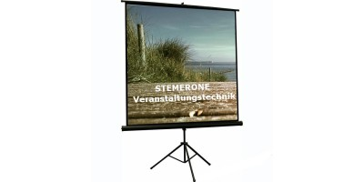 Projectionscreen 1,8m x 1,35m for rent