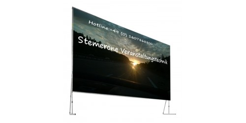 SCREEN 3,2m x 2,4m for rent
