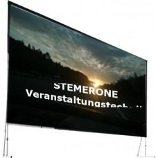 Verleih Leinwand VARIO  6mx4,5m Aufprojektion Format 4:3