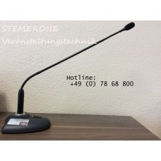 Rednermikrofon Schwanenhalsmikrofon SHURE MX418
